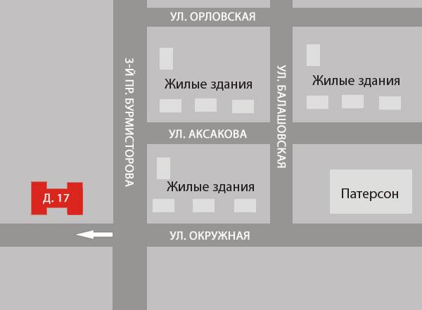 ООО Cтекло-Арт - Пенза - Схема проезда.